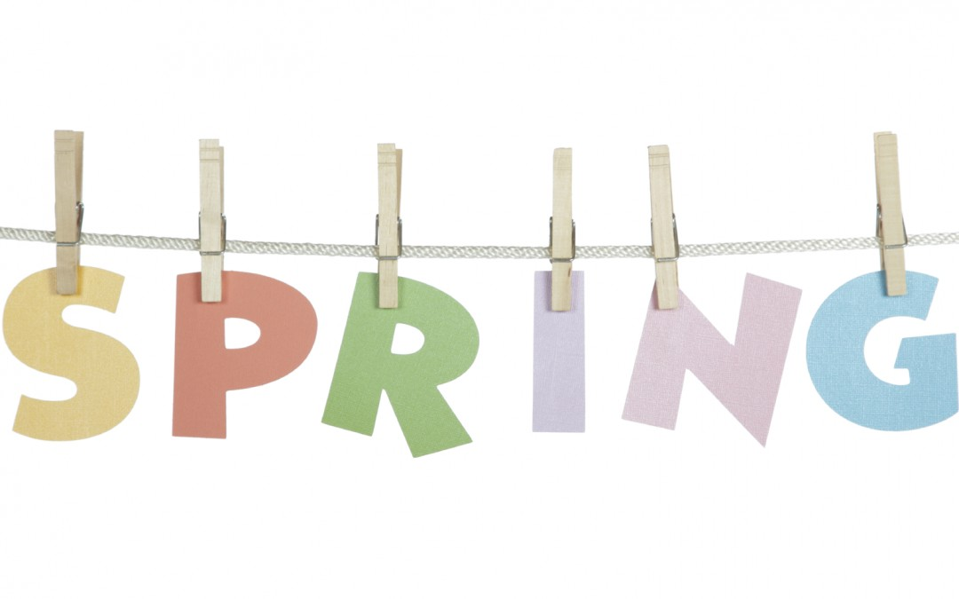 "Good bye grey ""HELLO BLUE"" – A spring forward promo for you…"