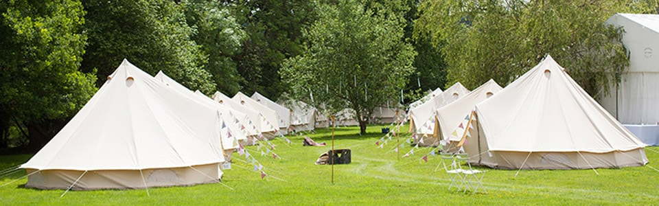 Bell Tent Town & Festival Bell Tent Hire | Festival Bell Tent Village