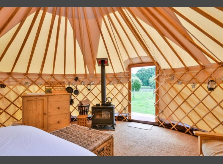 Yurt on the Inside