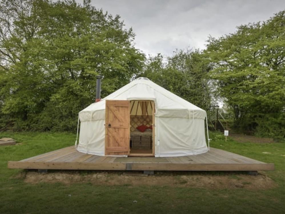 Yurt on Platform